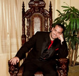 Me Sitting on a Throne
